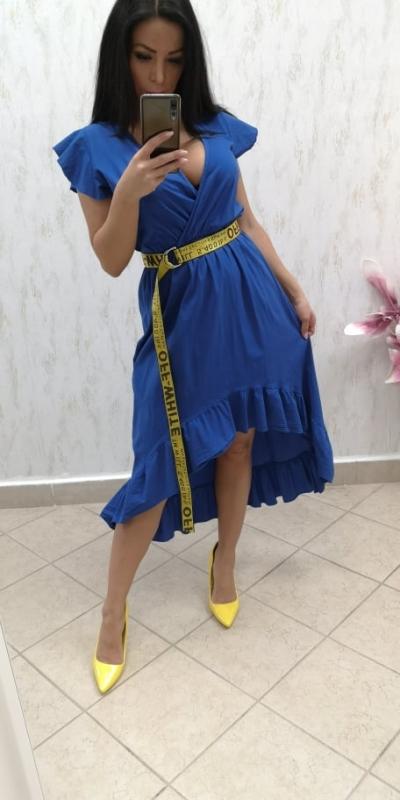 37ba546770d5 Dámske kráľovský modré šaty