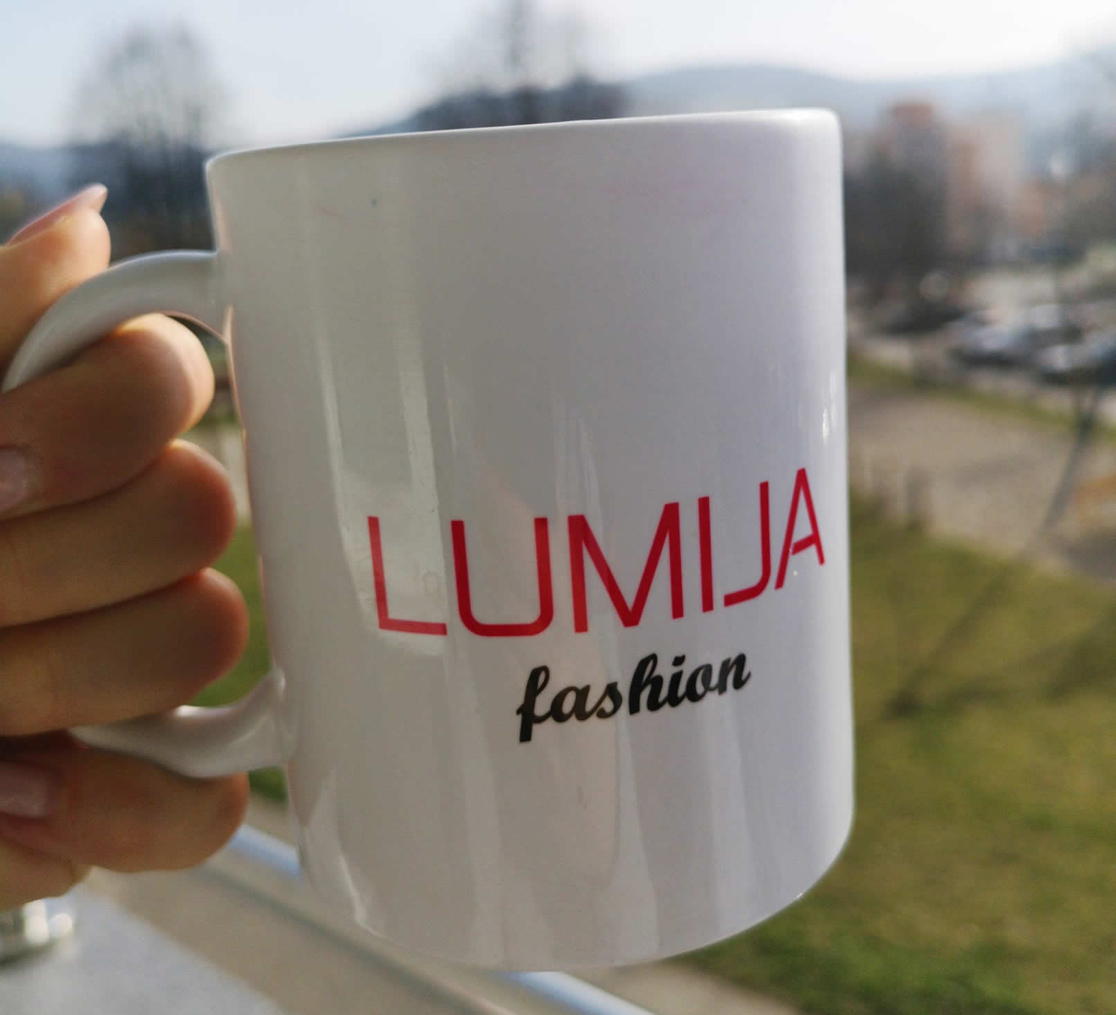 Lumija.Fashion hrnček